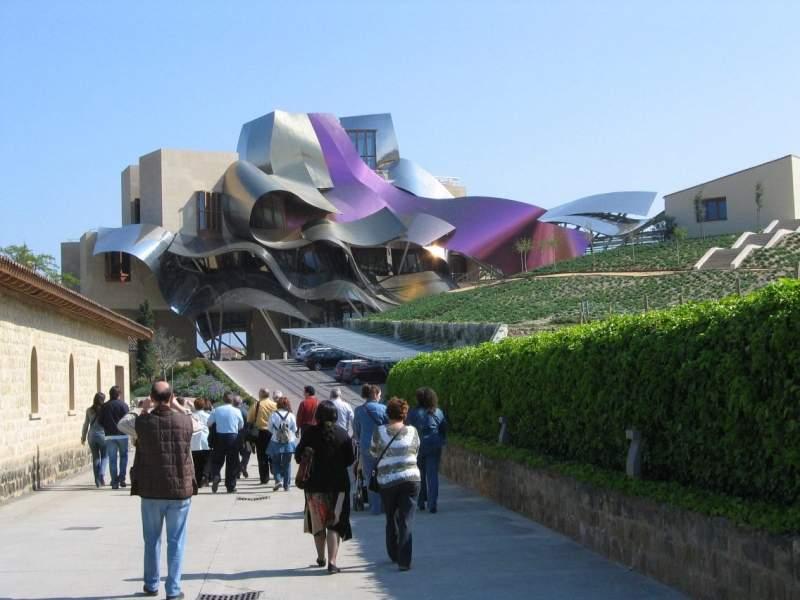 30excursiones - Arquitecto bodegas marques de riscal ...